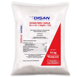 DISAN NPK CARGA 20-4-20-1(MgO)-1(S)