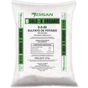 SOLU K ORGANIC- Sulfato Potasio Orgánico