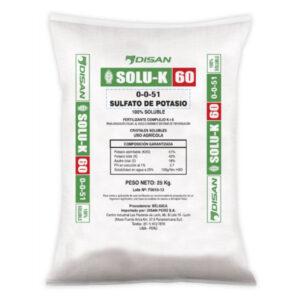 SOLU K 60- Sulfato Potasio Soluble